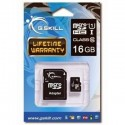 Carte micro SDHC 16Go avec adaptateur G.Skill