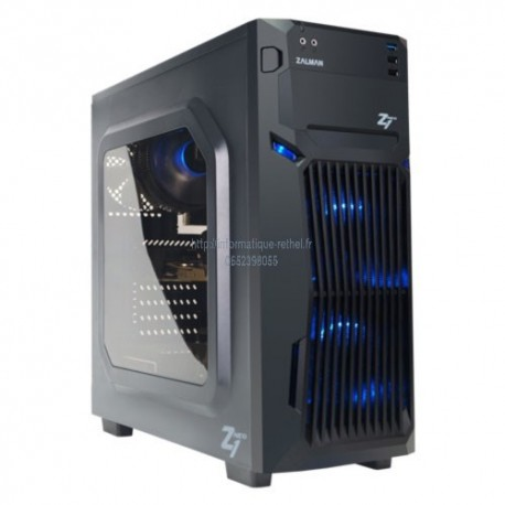 Boîtier PC Zalman Z1 Neo Noir