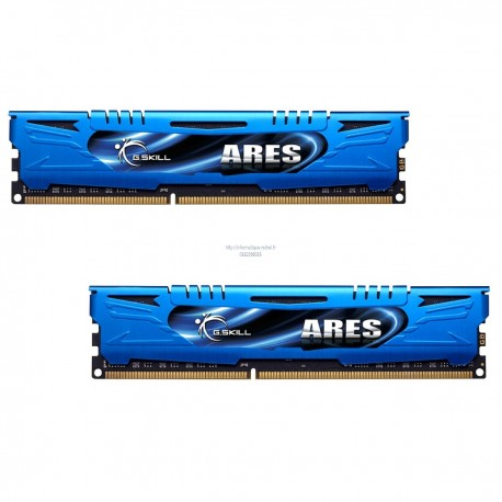 G.Skill Ares Blue Series 8Go (2 x 4Go) CL9 - mémoire 8Go RAM DDR3 PC3-17066 2133 Mhz