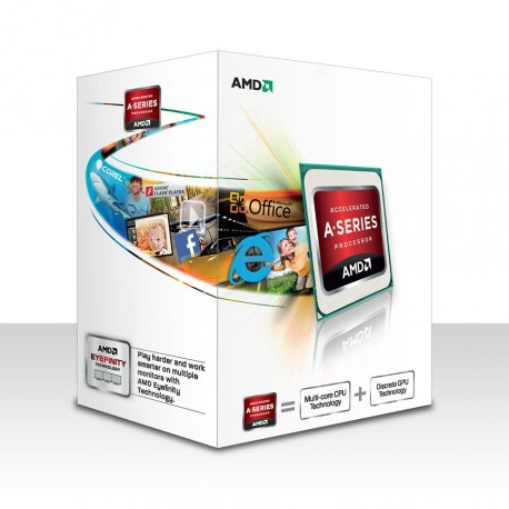 AMD A4-7300 (3.8 GHz) Dual Core Radeon HD 8470D