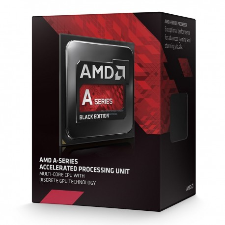 AMD A8-7650K (3.3 GHz) Black Edition Quad Core Radeon R7 Series