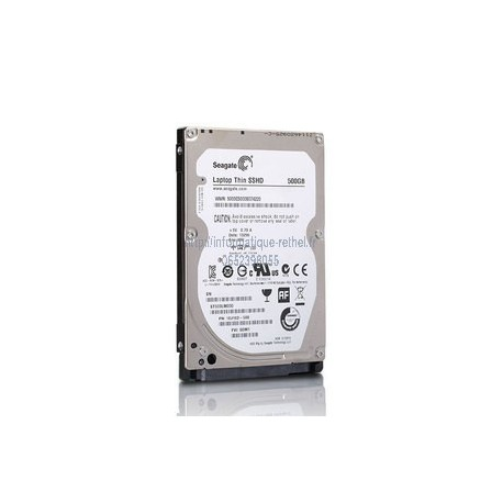 Disque dur interne 500 Go Seagate Laptop Thin SSHD