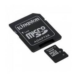 Carte micro SDHC 16Go avec adaptateur Kingston