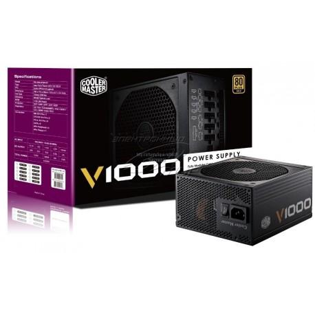 Alimentation 1000 W Cooler Master Vanguard V1000 80PLUS Gold Modulaire (RSA00-AFBAG1)