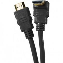 Câble 3 mètres HDMI 1.4 Ethernet Channel Coudé mâle/mâle
