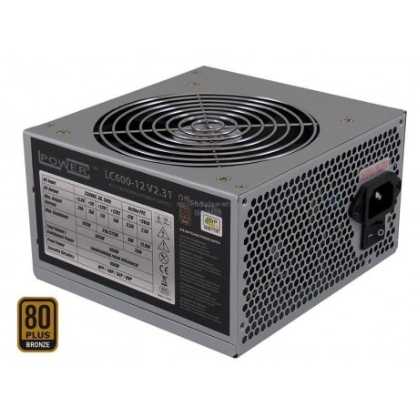 Alimentation 450W LC POWER LC600-12 12cm 80+ Bronze