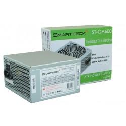 Alimentation 600W SmartTeck ST-GA600 12 cm silencieuse