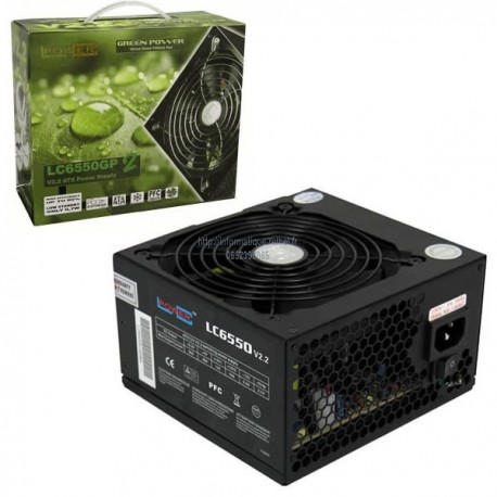Alimentation 550W LC-POWER LC6550GP2 V2.2 14 Cm Giant Green