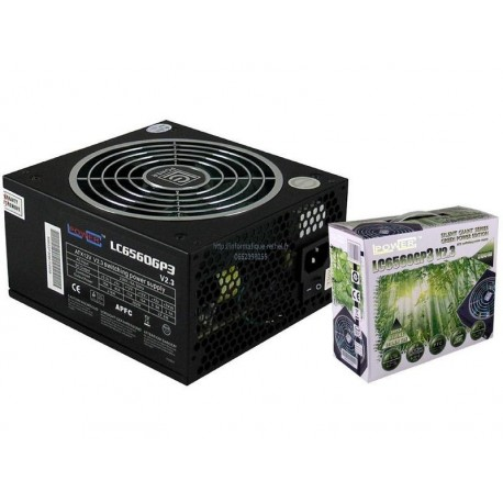 Alimentation 560W LC-POWER LC6560GP3 V2.3 14 Cm Giant Green