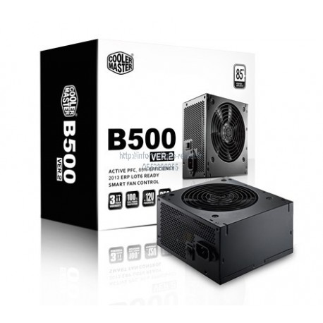 Alimentation 500W Cooler Master G500 SERIES 80PLUS Bronze (RS500-ACAAB1)