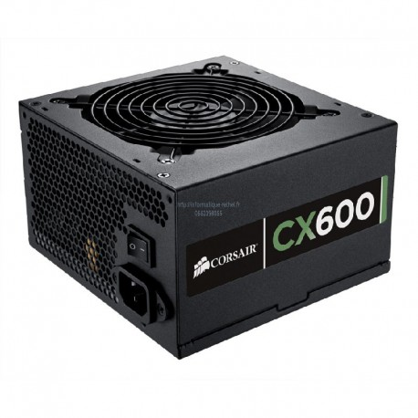 Alimentation 600W Corsair CMPSU-600CX V2