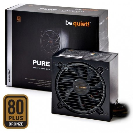 Alimentation 600W BE QUIET! Pure Power L8 80PLUS Bronze