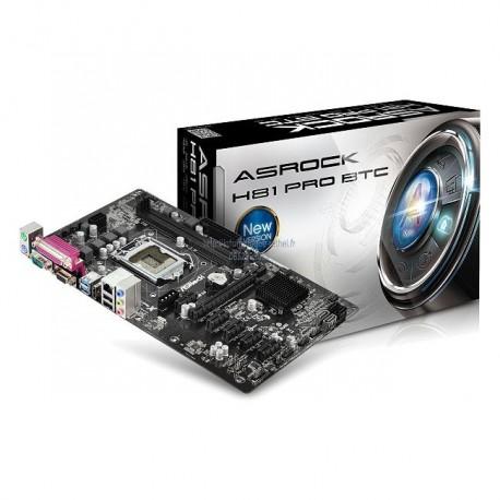 Carte mère ASRock H81 Pro BTC