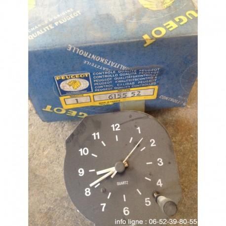 Horloge à quartz Jaeger Peugeot  504 - Référence 6155.52 (Neuf)