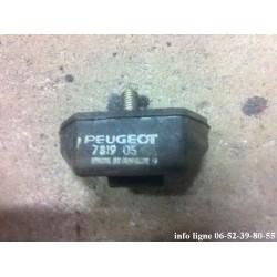 Butée inférieure de capot calandre Peugeot J7 - Référence 7819.05 (Neuf)
