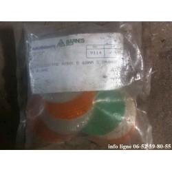 Lot de catadioptres rond diametre 60mm - Référence 9114 (Neuf)