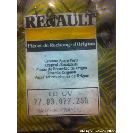 Lot de 10 clips de moulure pour Renault Clio MK1 - Référence 7703077256 (Neuf)