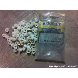 Lot de 60 clips de 4,8mm d'origine Renault - Référence 7701397210 (Neuf)