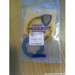 cale ou rondelle entretoise de boîte de vitesses Peugeot - Référence 2318.65 (Neuf)