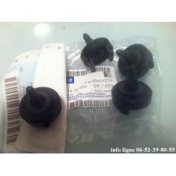 Lot de 4 supports de pare-chocs arrière GM 90464559 Opel Vectra B et CORSA C - Référence 1406469 (Neuf)