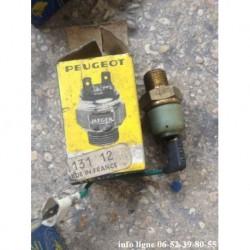 Manocontact de pression d'huile Peugeot J5 - Référence 1131.12 (Neuf)
