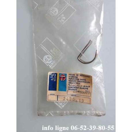 Goupille de levier de vitesses Peugeot 104-Peugeot 304-Peugeot 504-Peugeot 604-Peugeot 305-J5-Samba - Référence 2436.19 (neuf)