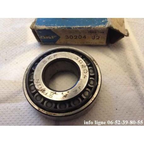 Roulement conique de moyeu de roue arrière Peugeot 204 - Référence SKF 30204.J2 (Neuf)