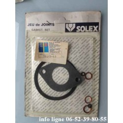 Jeu de joint Solex pour carburateur 32HSA de Peugeot 104 - Référence 1417.53 (Neuf)