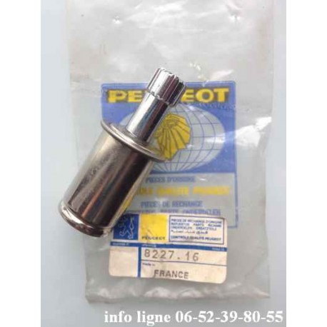 Allume cigare chromé Peugeot - Référence 8227.16 (Neuf)