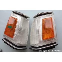 Clignotants avant pour Mitsubishi Lancer A17 (1979–1987) - Référence Stanley 041-7379L et 041-7379R (Neuf)