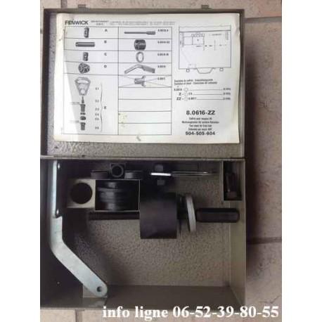 Coffret d'outillage Fenwick 8.0616-ZZ pour moyeux avant Peugeot 504, Peugeot 505 et Peugeot 604