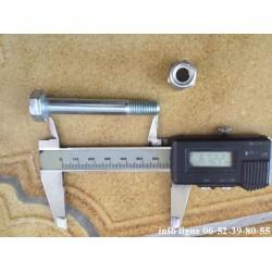 Vis de pas de 150 diamètre 10 longueur 65mm pour Peugeot 204-205-304-309-405-605 - Référence 3522.20 (Neuf)