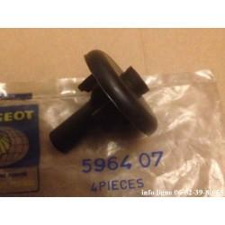 couvercle de puit de bougie culot long pour Peugeot 404 - Référence 5964.07 (Neuf)