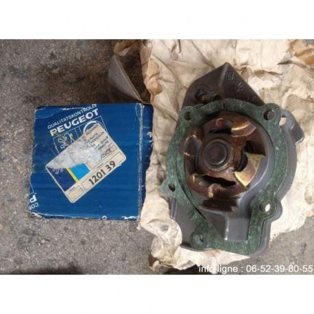 Pompe à eau Peugeot 305 et Peugeot 205 - Référence 1201.39 (Neuf)
