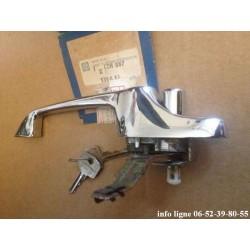 poignée de  porte extérieure gauche chromée Mini cooper 1969-2000 - Référence CZH887 (Neuf)