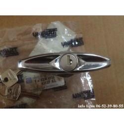 poignée de  coffre extérieure chromée Mini cooper 1969-2000 - Référence CZH1725 (Neuf)