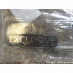 Badge exclusive Citroën Saxo - Référence 8663 WC (Neuf)