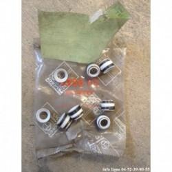 8 joints de soupapes moteur essence Peugeot 104-204-304-404-504-604-505-J5-J7-J9-205-305-309-P4-Talbot - Référence 0956.05 (Neuf