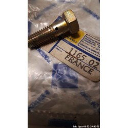 Vis raccord de tube d'huile Peugeot 203-403-204-304-305-404-J5-J7-J9-Q3A-D3A-504-505-604-P4- Référence 1165.02 (Neuf)