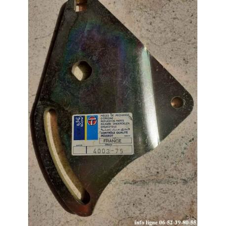 Support de galet de pompe à vide Peugeot 505 - Référence 4003.75 (Neuf)