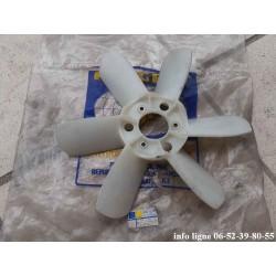 Hélice de ventilateur en plastique Peugeot 204, Peugeot 304 et Peugeot 305 - Référence 1254.30 (Neuve)