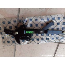 Crémaillère de léve vitre électrique avant droite Peugeot 505 - référence 9222.45 (neuve)