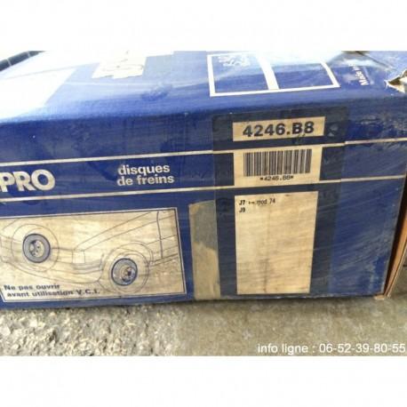 Disques de freins Peugeot J7 et Peugeot J9 - Référence 4246.B8 (Neuf)