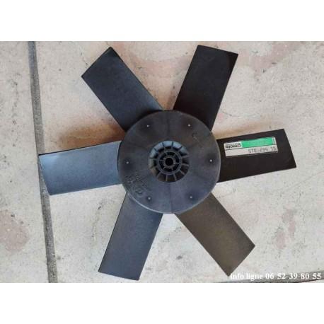 Hélice de ventilateur 6 pales Citroën CX - Référence 9556791 (Neuve)