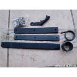 Nécessaire de suspension d'échappement arrière Peugeot 404 - Référence 1799.32 (Neuf)
